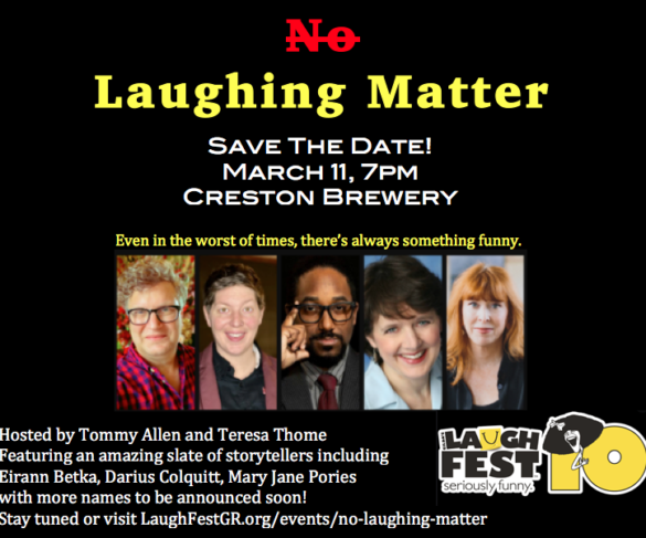 No Laughing Matter Flyer