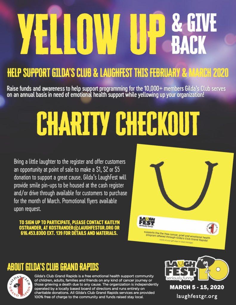 LF20 Charity Checkout